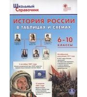 ШСп История России в таблицах и схемах.  6-10 кл.